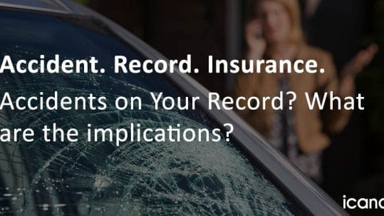 How Accidents on Your Record Affect Insurance Rates