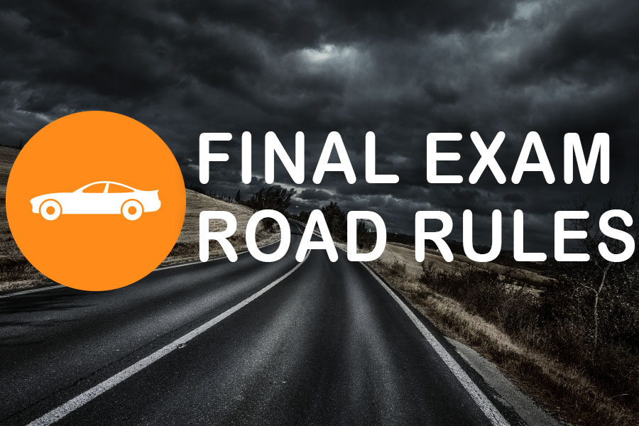 Road Rules Practice Exam - NL