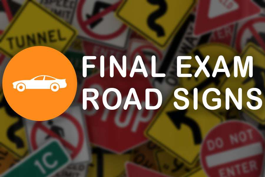 NT Road Signs Practice Exam