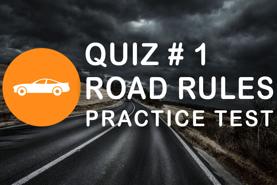 Class 7 Road Rules Practice Test