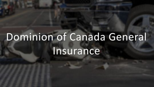 The Dominion of Canada General Insurance Company