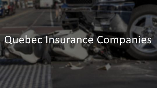 Assurance Auto – Car Insurance Companies in Quebec