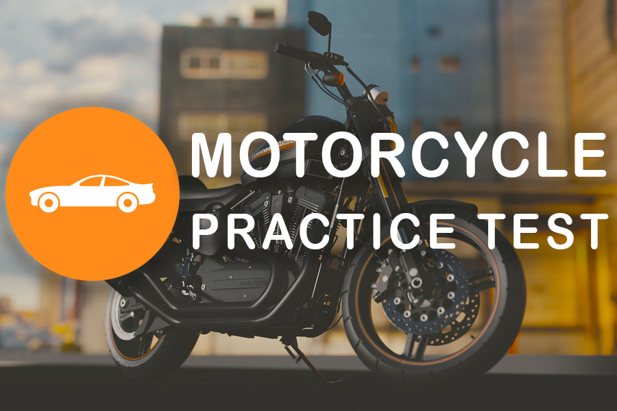 Quebec Motorcycle Practice Test for the Class 6 Learner's